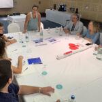 Una de las reuniones del Clúster de Enoturismo de Canarias en la ULL.