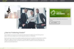 Sección de las Fostering Grads en la web de ECUSA.