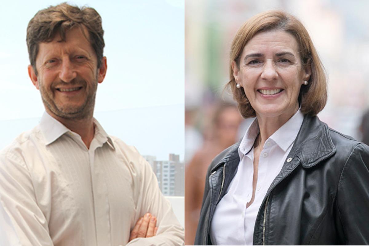 François Vallaeys y Pilar Aramburuzabala.
