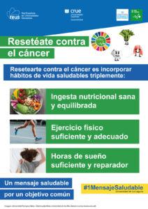Campaña resetéate contra el cáncer