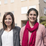 Las investigadoras Laura Díaz y Cristina González.