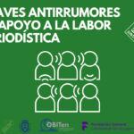 Claves Antirrumores de apoyo a la labor periodística
