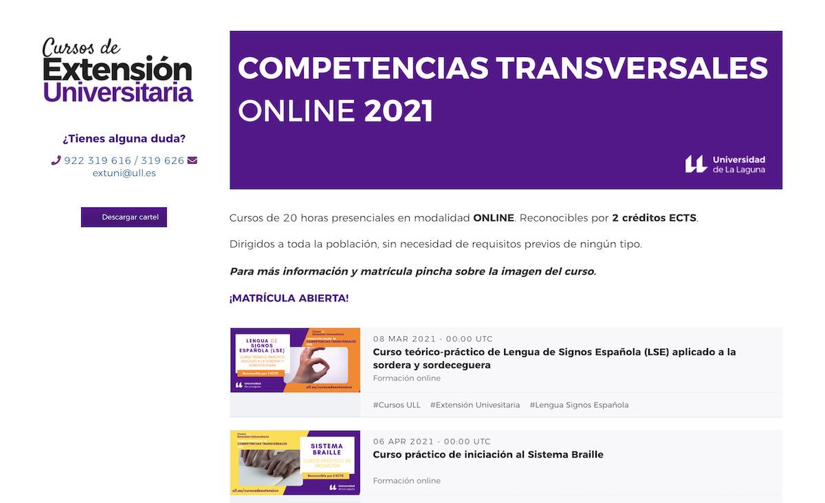 cursos de competencias transversales