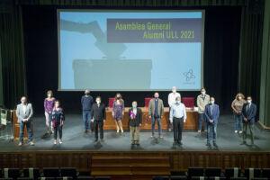 La renovada directiva de Alumni ULL
