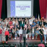 Bienvenida al alumnado Erasmus en febrero de 2020, última celebrada de manera presencial.