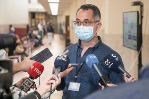 El director de Enfermería de la Gerencia de Atención Primaria de Tenerife, Ramón Pintó.