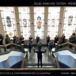 Imagen de la actuación de esta agrupación universitaria.