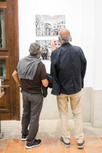 Visita guiada con Carlos  Schwartz.