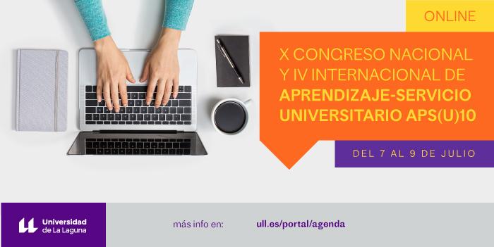 anuncio del congreso sobre Aprendizaje-Servicio