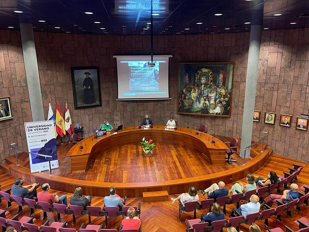 Apertura de la Universidad de Verano de La Gomera