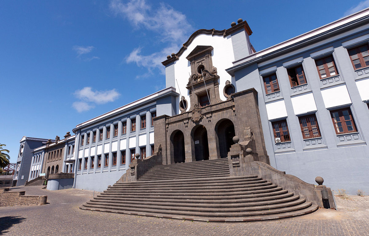 Edificio Central de la Universidad de La Laguna