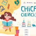 cartel del proyecto Chicas con Cienci@ULL