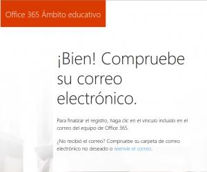 Office365CompruebeCorreo