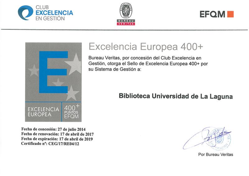 Sello de Calidad de la Biblioteca Universidad de La Laguna